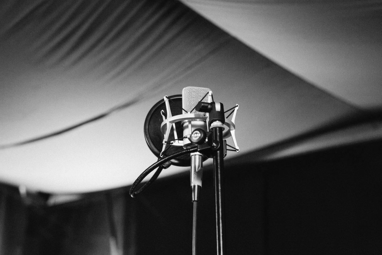 Como gravar voz em home studio?